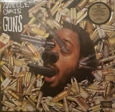 Quelle Chris - Guns (2xLP, Gold vinyl)