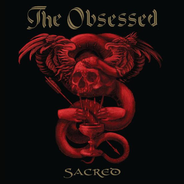 Obsessed, The - Sacred (2xLP, Red/Blue vinyl)