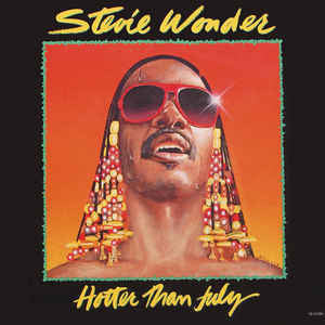 Stevie Wonder ‎- Hotter Than July (LP)