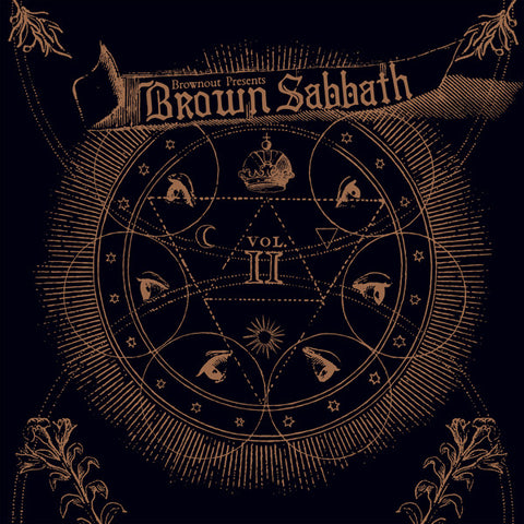 Brownout - Brown Sabbath - Vol. II (LP, 2019 reissue, Brown Vinyl)