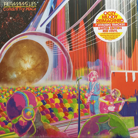 Flaming Lips, The - Onboard The International Space Station Concert For Peace (LP, Ltd. Red Vinyl)