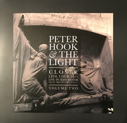 Peter Hook And The Light ‎– Closer Live Tour 2011 Live In Manchester Volume Two LP [RSD17]