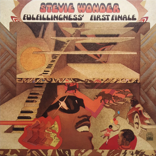 Stevie Wonder ‎- Fulfillingness' First Finale (LP, 180g Gatefold)