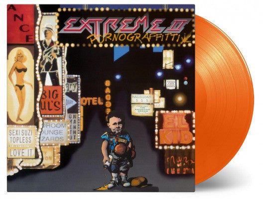 Extreme ‎– Pornograffitti LP (180g Orange Vinyl)