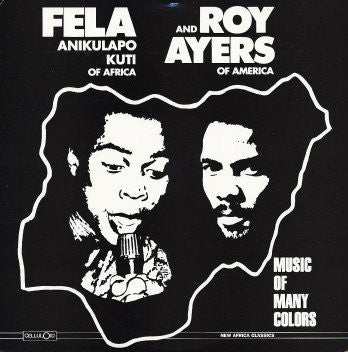 Fela Kuti + Roy Ayers - Music of Many Colours (LP)