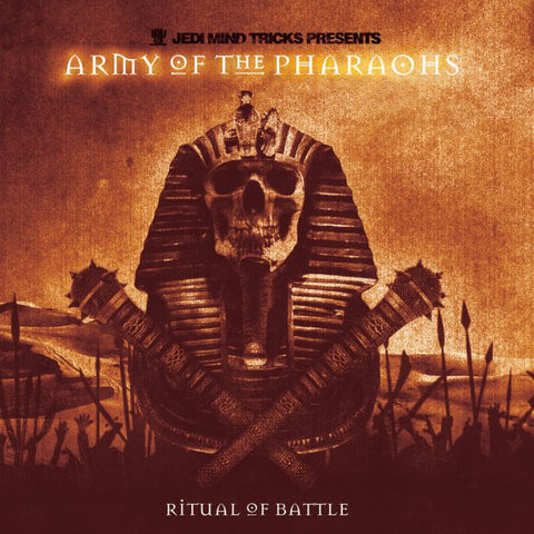 Jedi Mind Tricks Presents Army Of The Pharaohs ‎– Ritual Of Battle (2XLP, Colour Vinyl)
