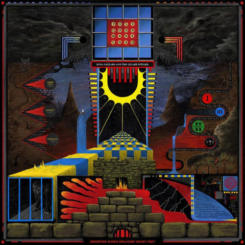 King Gizzard & The Lizard Wizard - Polygondwanaland (LP, 4 Way Coloured Vinyl + Poster)