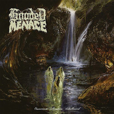 Hooded Menace ‎- Ossuarium Silhouettes Unhallowed (LP, Clear Vinyl Limited to 300)