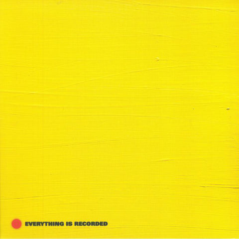 Everything Is Recorded - s/t (LP + CD, Yellow vinyl)