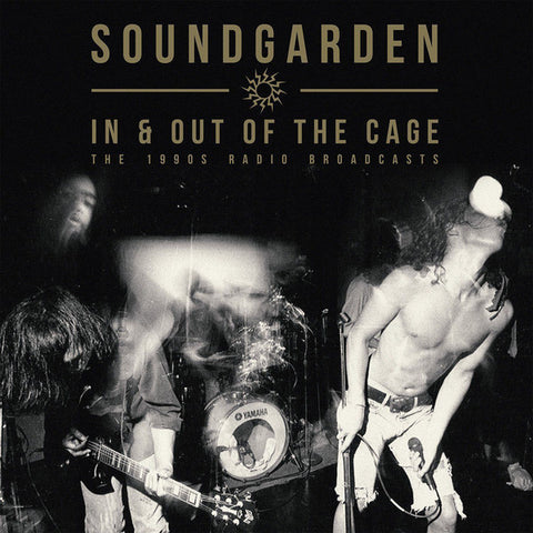 Soundgarden - In & Out Of The Cage - The 1990's Radio Broadcasts (2xLP, Red/Black Splatter)