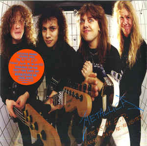 Metallica - The $5.98 E.P. - Garage Days Re-Revisited (LP, Orange Translucent Vinyl)