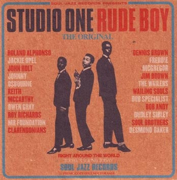 Various Artists - Studio One Rude Boy 2xLP