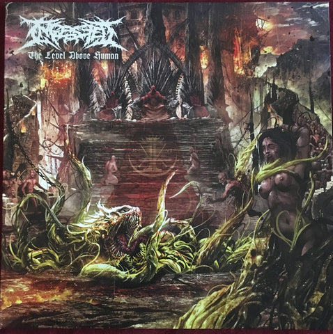 Ingested - The Level Above Human (LP, Blood Red Vinyl)