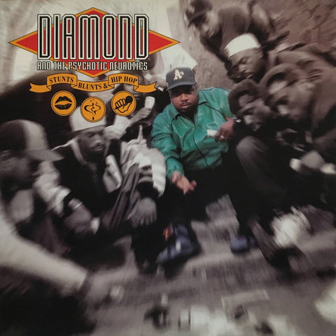 Diamond D & The Psychotic Neurotics - Stunts, Blunts & Hip Hop (Expanded Edition) (2xLP, 180g Audiophile Vinyl)