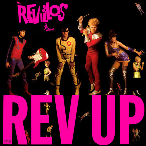 The Revillos - Rev Up (LP + Poster)