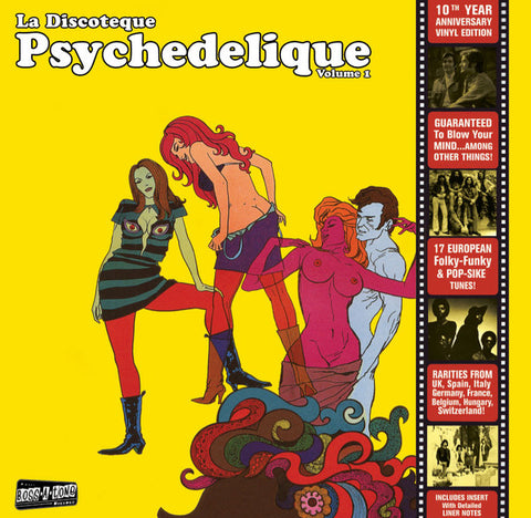 Various - La Discoteque Psychedelique Vol. 1 (LP)