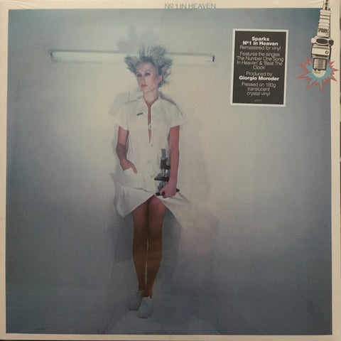 Sparks ‎– No.1 In Heaven (LP, Ltd Crystal Vinyl)