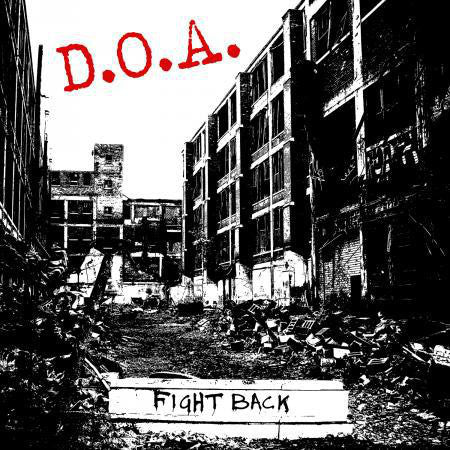 D.O.A. ‎– Fight Back (LP, Red vinyl)