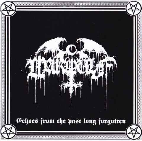 Warwulf - Echoes From The Past Long Forgotten (CD, numbered)