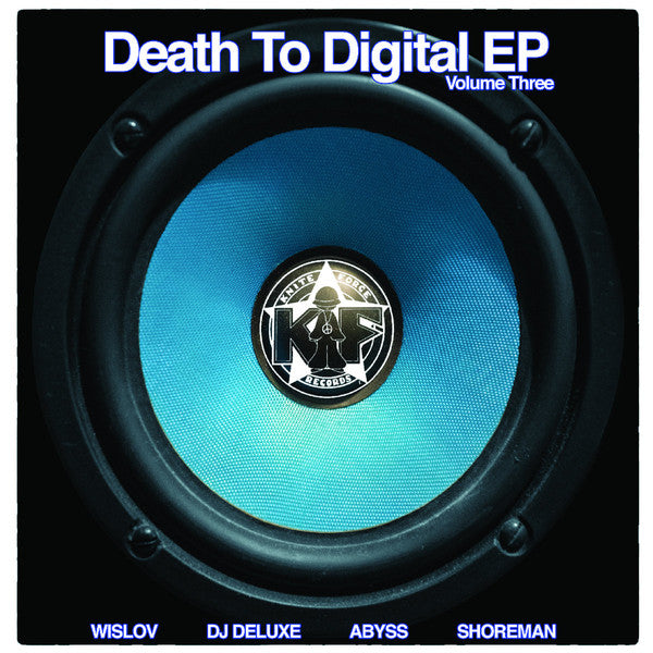 "Various - Death To Digital EP Volume Three (12"")"