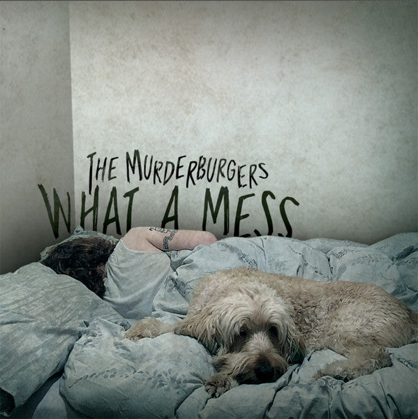 Murderburgers, The - What A Mess (LP, Red/Grey Splatter Vinyl)