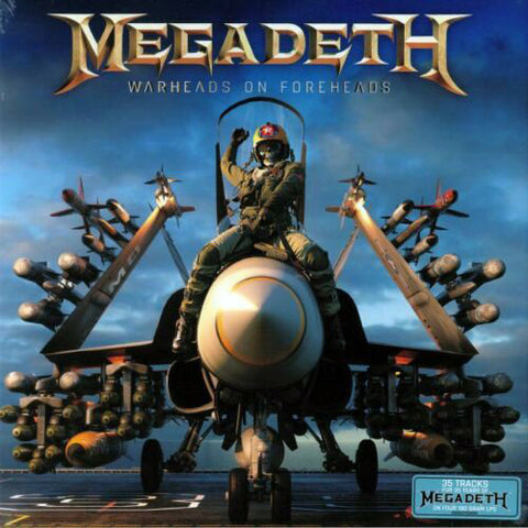 Megadeth - Warheads On Foreheads (4xLP, Boxset)