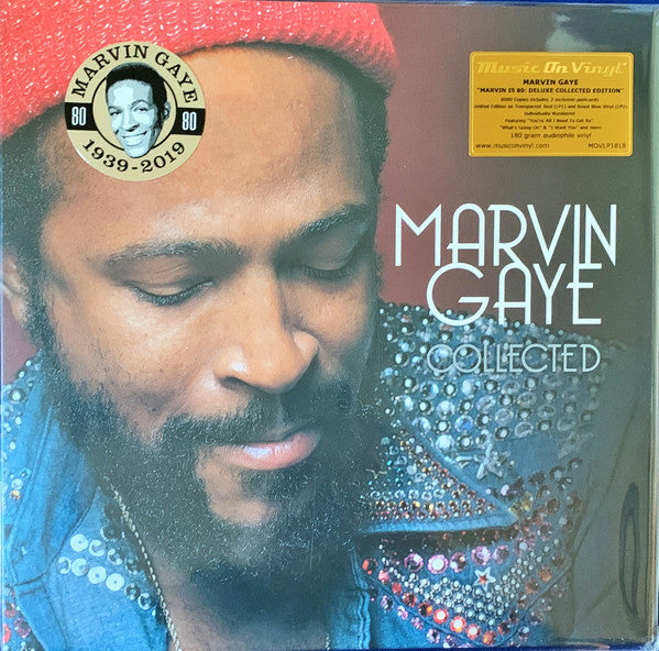 Marvin Gaye - Collected (2xLP, Ltd. Numbered, Red & Blue Vinyl)