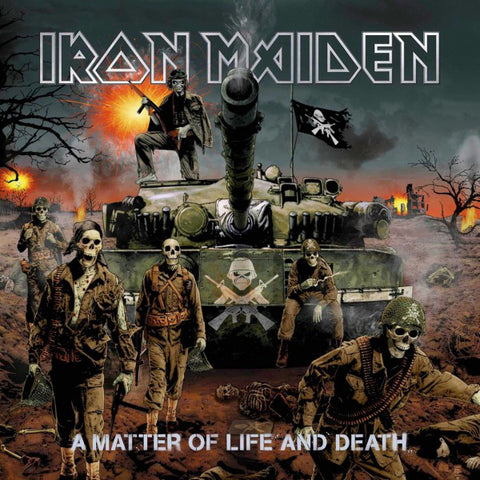 Iron Maiden - A Matter of Life and Death (CD, Digipak)