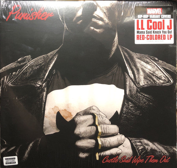 LL Cool J - Mama Said Knock You Out (LP, Red Vinyl Marvel Variant Cover)