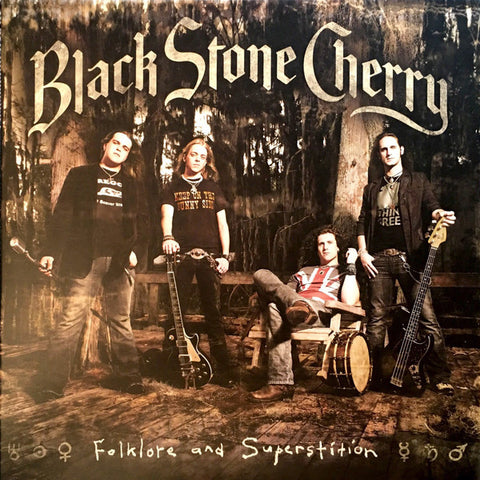 Black Stone Cherry - Folklore And Superstition (2xLP, Ltd. Numbered, 180g Black/Gold Vinyl)