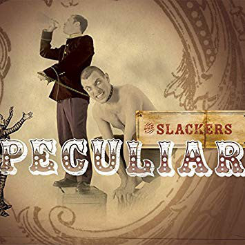 "The Slackers - Peculiar (LP + 7"", Gatefold, Electric Blue/White Galaxy Vinyl)"