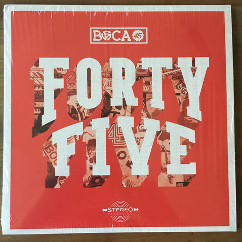 Boca 45 - Forty Five (LP, Black Vinyl)