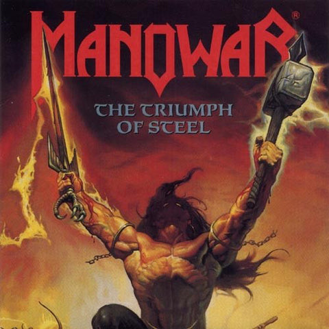 Manowar - The Triumph of Steel (2xLP, Piss Yellow Vinyl)