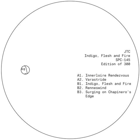 "JTC - Indigo, Flesh and Fire (12"" EP)"