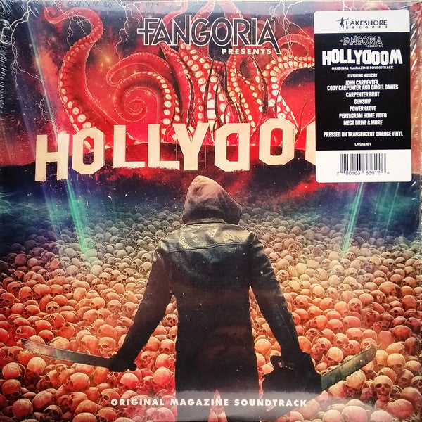 Various - Fangoria Presents: Hollydoom (Magazine Soundtrack) (LP, Orange vinyl)