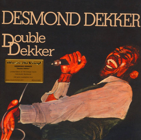 Desmond Dekker - Double Dekker (2xLP, Orange Vinyl)