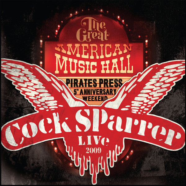 Cock Sparrer - Live - Back In San Francisco 2009 (2xLP, DVD)