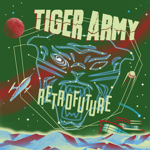 Tiger Army - Retrofuture (LP, Ltd. Indie Excl. Green/Red Splatter Vinyl)