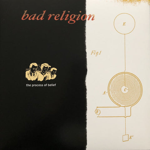 Bad Religion - The Process Of Belief (LP, Black Vinyl)