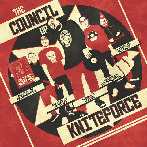 "Paul Bradley, Luna-C & Lowercase, Idealz, Saiyan & Cru-L-T - The Council Of Kniteforce (12"")"