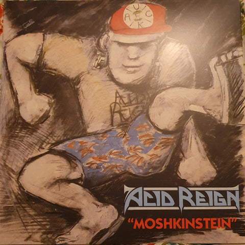 Acid Reign - Moshkinstein (LP, Blue Vinyl)