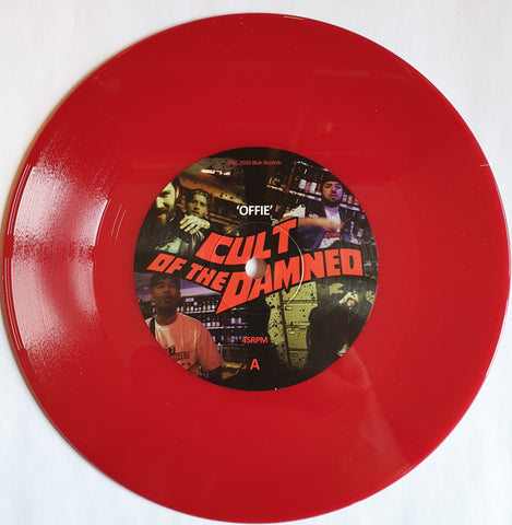 "Cult Of The Damned - Offie / Castles (7"", Red vinyl)"