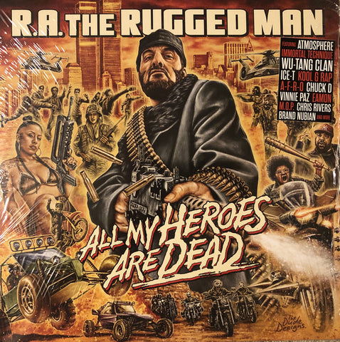 R.A. The Rugged Man - All My Heroes Are Dead (3xLP)