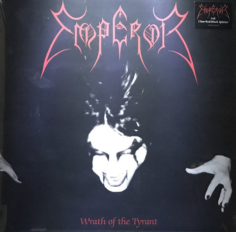 Emperor - Wrath Of The Tyrant (LP, clear red/black splatter)