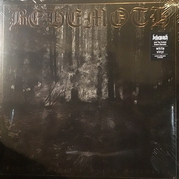 Behemoth - And The Forests Dream Eternally (LP, Foil-Embossed cover, White vinyl)