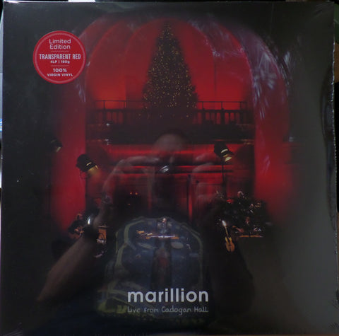 Marillion - Live from Cadogan Hall (4xLP, red vinyl)