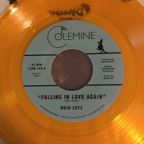 "Dojo Cuts - Rome / Falling In Love Again (7"", Transparent Gold (Orange) vinyl)"