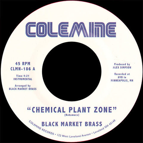 "Black Market Brass ‎– Chemical Plant Zone / Sagat Theme (7"")"