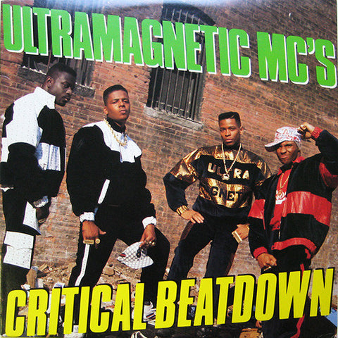 Ultramagnetic MC's - Critical Beatdown (2xLP, Yellow vinyl)