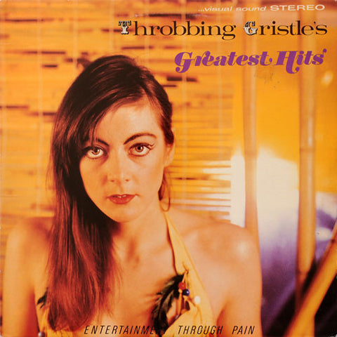 Throbbing Gristle - Throbbing Gristle's Greatest Hits (LP, Transparent Orange Vinyl + Download)